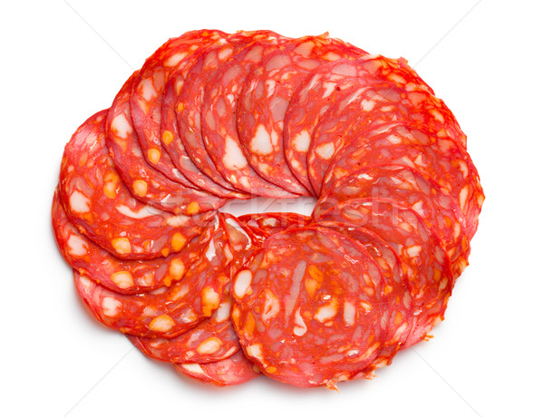 sliced chorizo salami Stock photo © jirkaejc