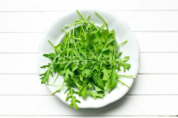 Foto stock: Folhas · prato · natureza · folha · salada · alimentação