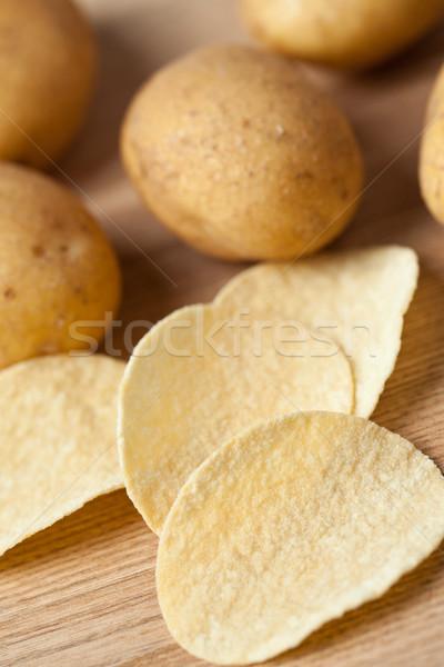 potatoes and chips Stock photo © jirkaejc