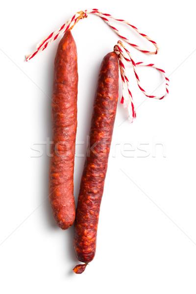 tasty chorizo sausage Stock photo © jirkaejc