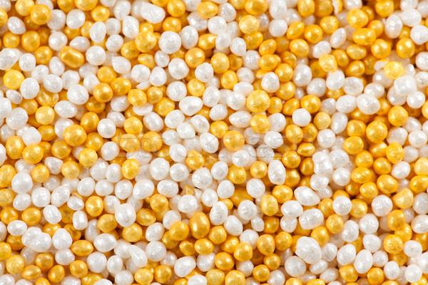 gold sugar sprinkles Stock photo © jirkaejc