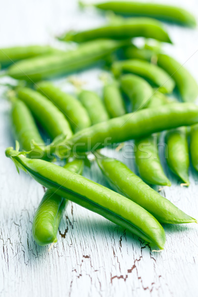 green pea pods Stock photo © jirkaejc