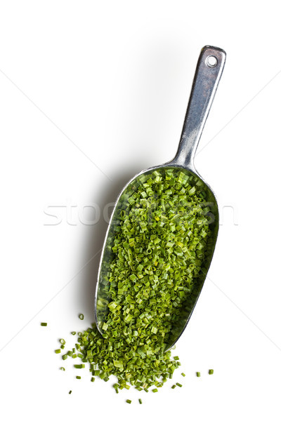 green chives in metal scoop Stock photo © jirkaejc