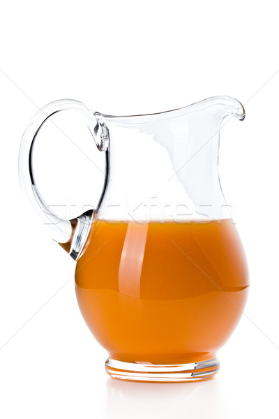 carrot juice in pitcher Stock photo © jirkaejc
