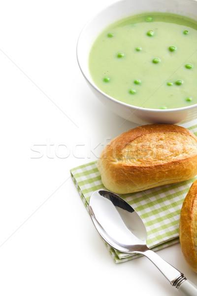Soupe chignon blanche alimentaire santé vert Photo stock © jirkaejc