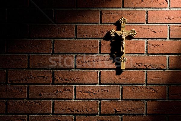 crucifix with Jesus Stock photo © jirkaejc