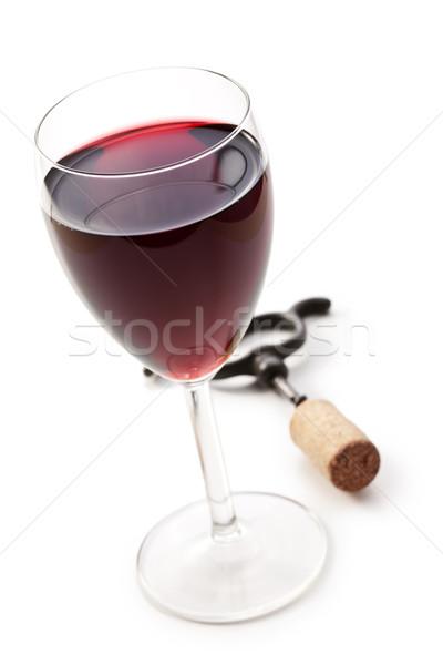 glass of red wine Stock photo © jirkaejc