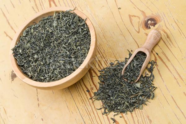 green tea leaves Stock photo © jirkaejc