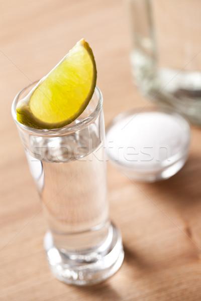 Foto stock: Tequila · beber · foto · tiro · alimentos · fiesta