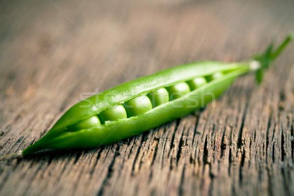 green pea pod Stock photo © jirkaejc