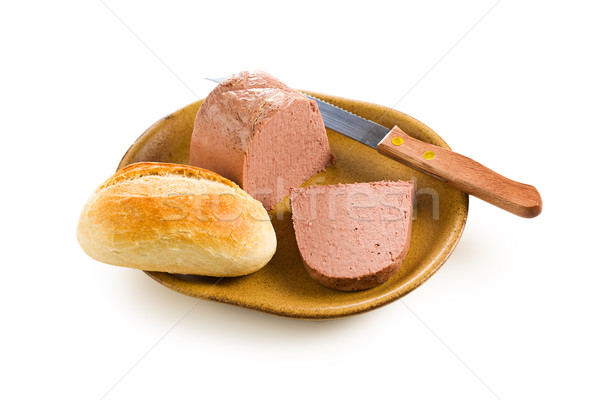 Stock photo: gourmet liver pate