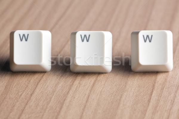 Сток-фото: WWW · слово · интернет · Мир