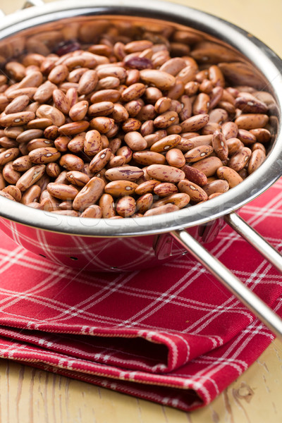 red beans in colander Stock photo © jirkaejc