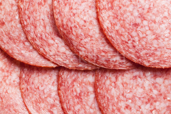 detail of salami Stock photo © jirkaejc