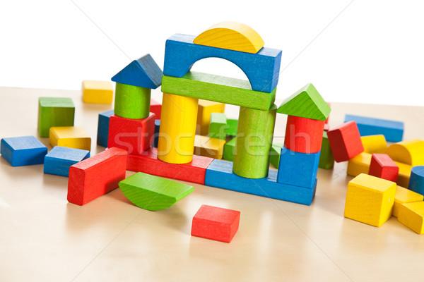 wooden toy blocks Stock photo © jirkaejc