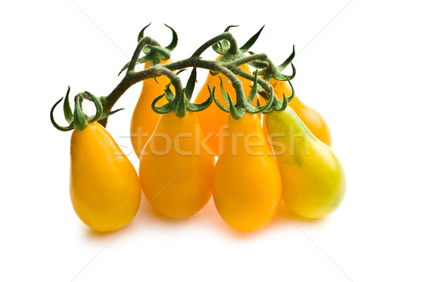 Stock photo: yellow cherry tomatoes