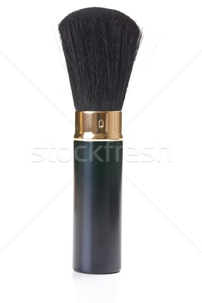 Sminkecset fehér háttér fekete szín női Stock fotó © jirkaejc