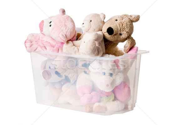stuffed animals in case Stock photo © jirkaejc