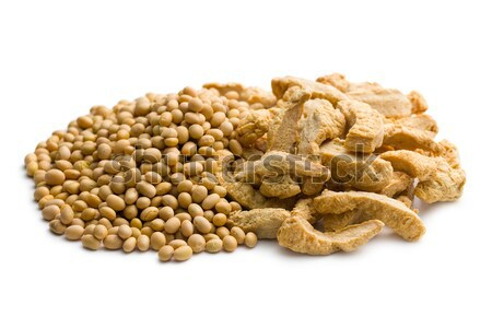 soybeans and soy meat  Stock photo © jirkaejc