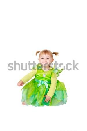 Wenig Fee Mädchen Kinder Frauen Stock foto © jirkaejc