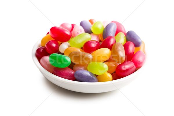 jelly beans in bowl Stock photo © jirkaejc