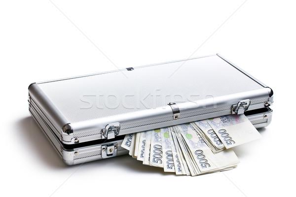 Czech ceny aluminium przypadku biały działalności Zdjęcia stock © jirkaejc