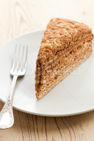 sweet honey-cake Stock photo © jirkaejc