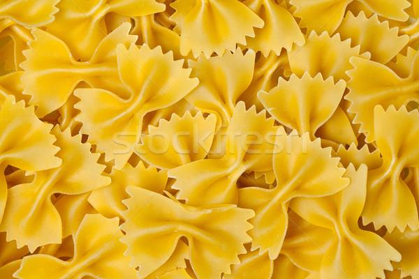 farfalle pasta background Stock photo © jirkaejc