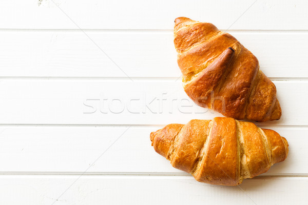 two croissants Stock photo © jirkaejc