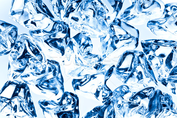 the background of ice cubes Stock photo © jirkaejc