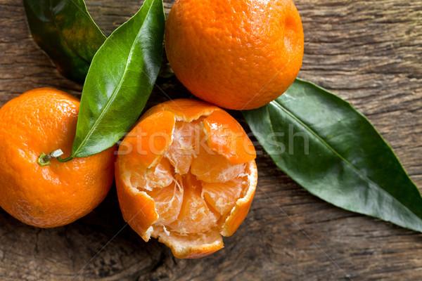 fresh mandarins Stock photo © jirkaejc
