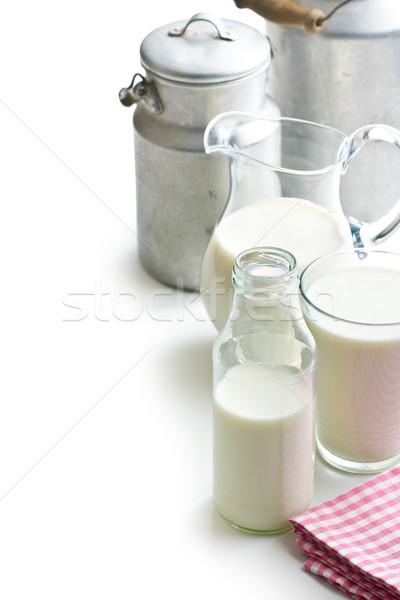 Various milk containers Stock photo © jirkaejc