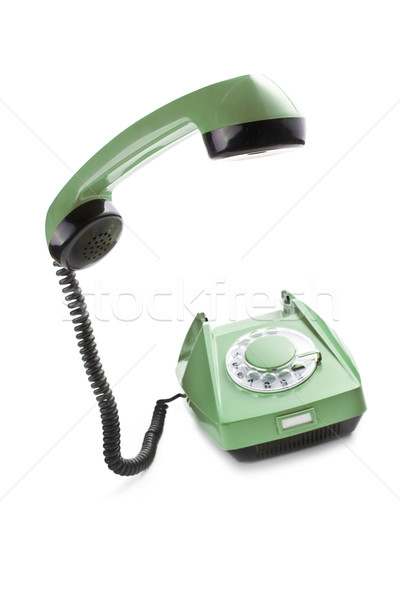 old telephone with lifted handset Stock photo © jirkaejc