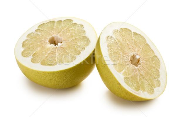 two halves of pomelo fruit Stock photo © jirkaejc