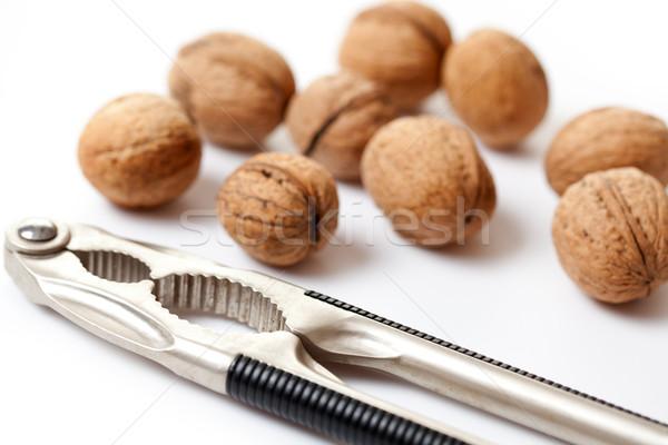 walnuts and nutcracker Stock photo © jirkaejc