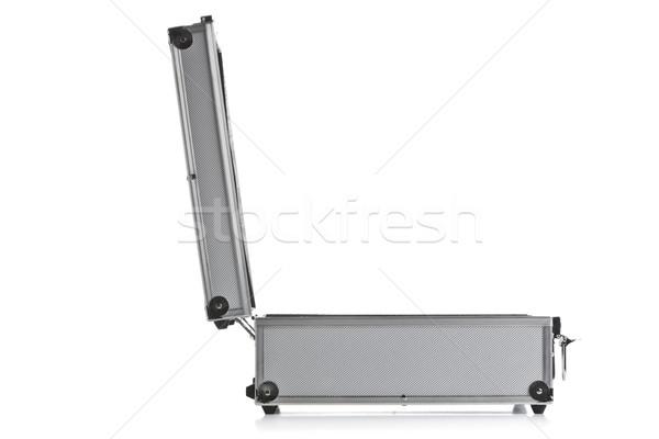 open aluminum case Stock photo © jirkaejc
