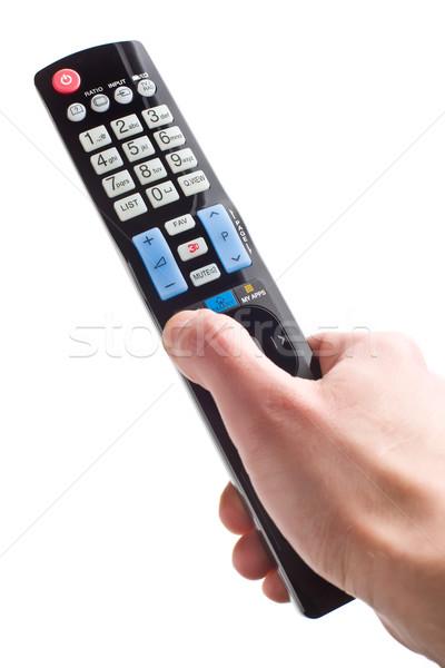 remote control in hand Stock photo © jirkaejc