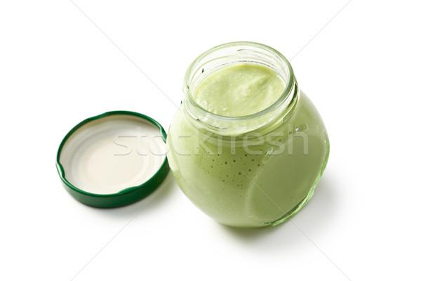 Stockfoto: Groene · wasabi · witte · voedsel · gezondheid · asian