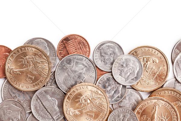 Stock foto: Münzen · Foto · erschossen · Geld · Reise
