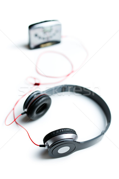 headphones with personal stereo Stock photo © jirkaejc