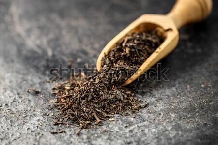 dry leaves of green tea  Stock photo © jirkaejc