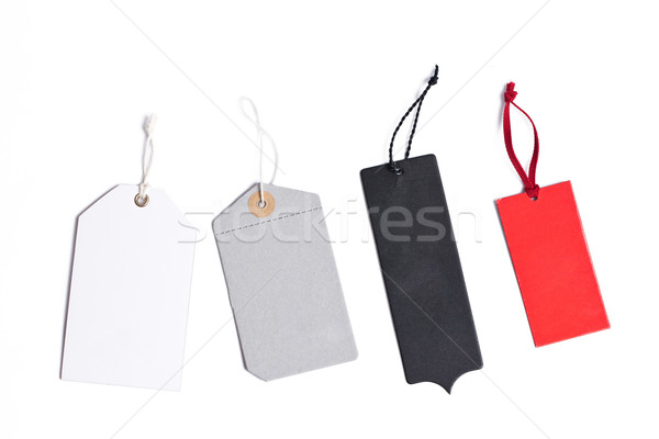 ár címkék izolált fehér üzlet háttér Stock fotó © jirkaejc