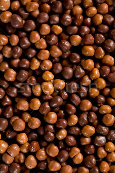 çikolata top kahverengi arka plan şeker model Stok fotoğraf © jirkaejc