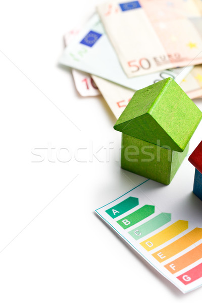 concept of the house energy saving Stock photo © jirkaejc
