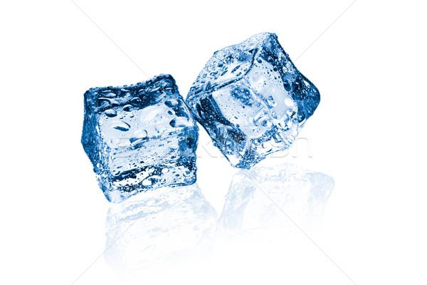 two ice cubes Stock photo © jirkaejc