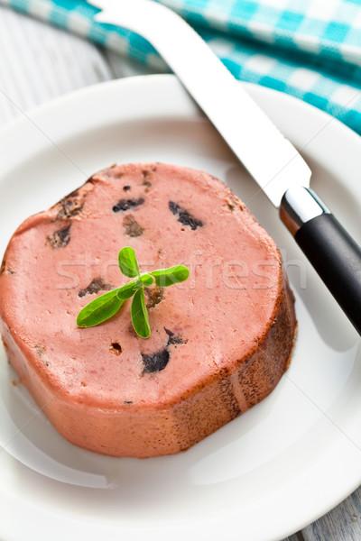 closeup of gourmet pate Stock photo © jirkaejc