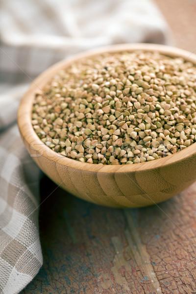 uncooked buckwheat Stock photo © jirkaejc