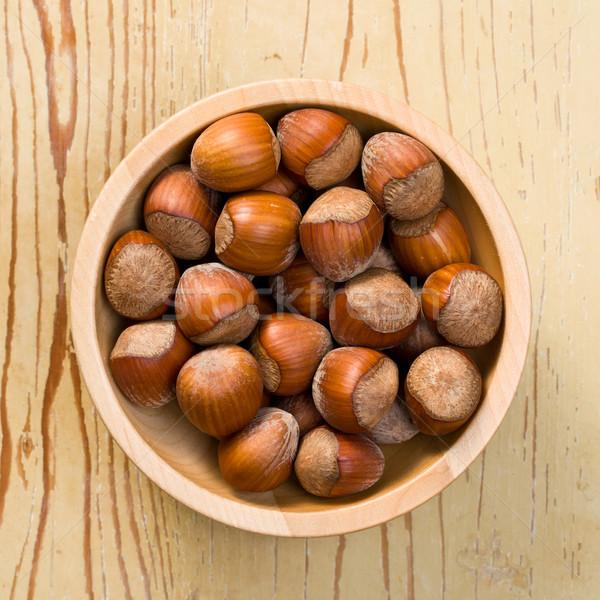 hazelnuts in bowl Stock photo © jirkaejc