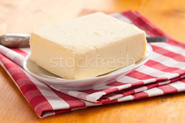 Frescos mantequilla foto tiro alimentos desayuno Foto stock © jirkaejc
