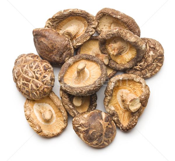 dried shiitake mushrooms  Stock photo © jirkaejc